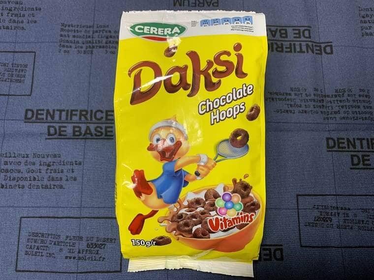 業務スーパーのチョコリングシリアル