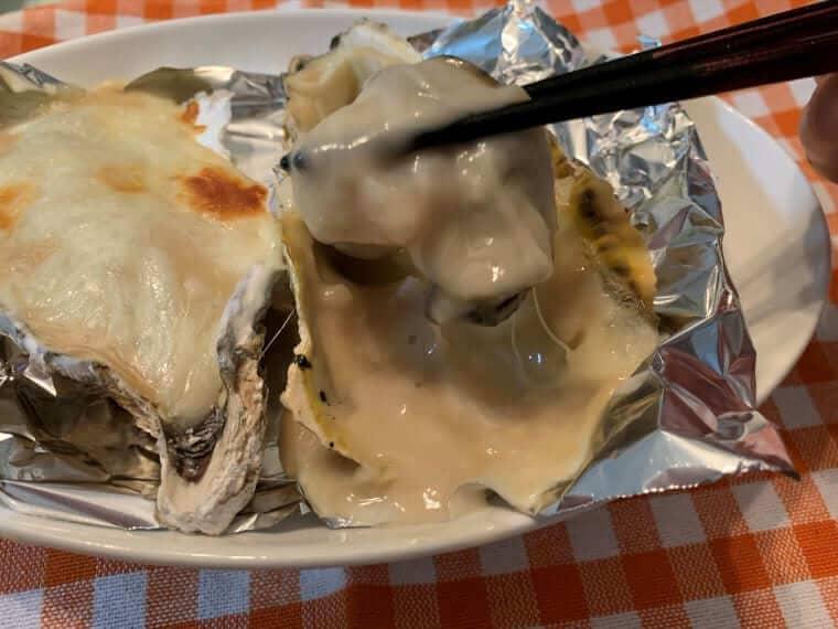 業務スーパーのホワイトソースで作った牡蠣グラタン