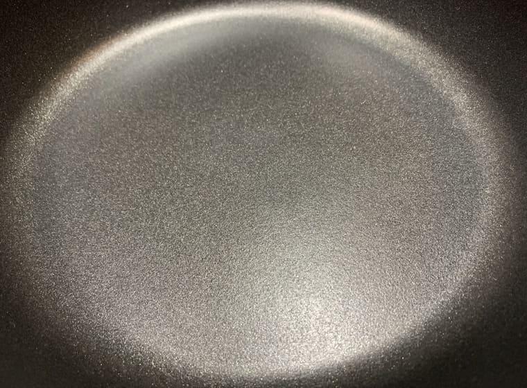 アサヒ軽金属のオールパンゼロの内底面アップ写真
