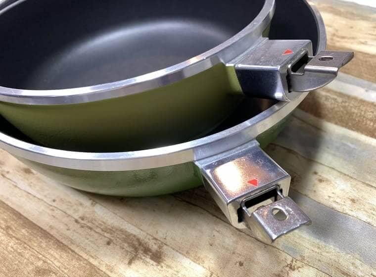 アサヒ軽金属のオールパンゼロを重ねた写真