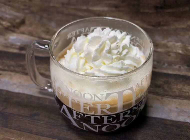 業務スーパーのホイップクリームで作ったウインナーコーヒー