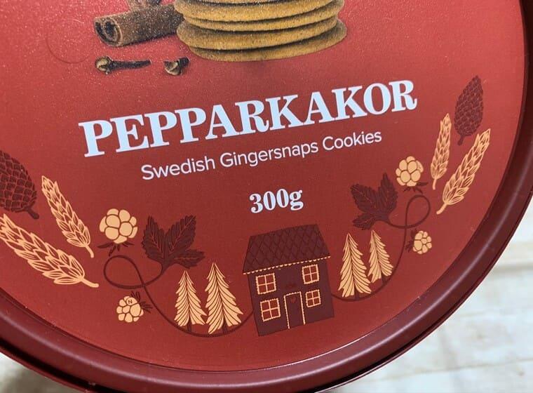 業務スーパーのスウェーデンジンジャークッキー