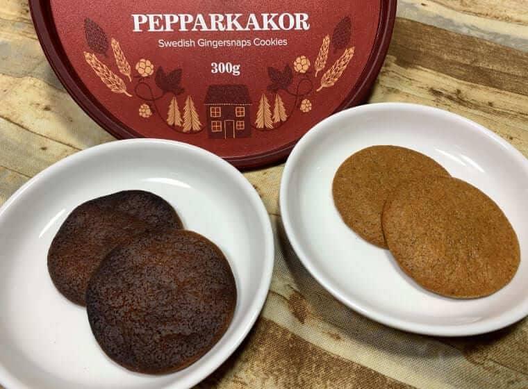 オーブントースターで温めた業務スーパーのスウェーデンジンジャークッキー