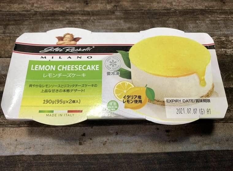 業務スーパーのレモンチーズケーキ