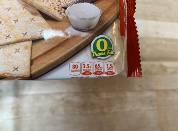 業務スーパーのシュガークラッカーのパッケージ写真