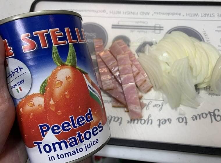 業務スーパーの激安ホールトマト缶