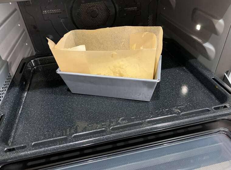 業務スーパーのクリームチーズのベイクドチーズケーキの調理方法