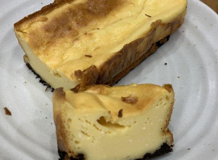 業務スーパーのクリームチーズのベイクドチーズケーキ