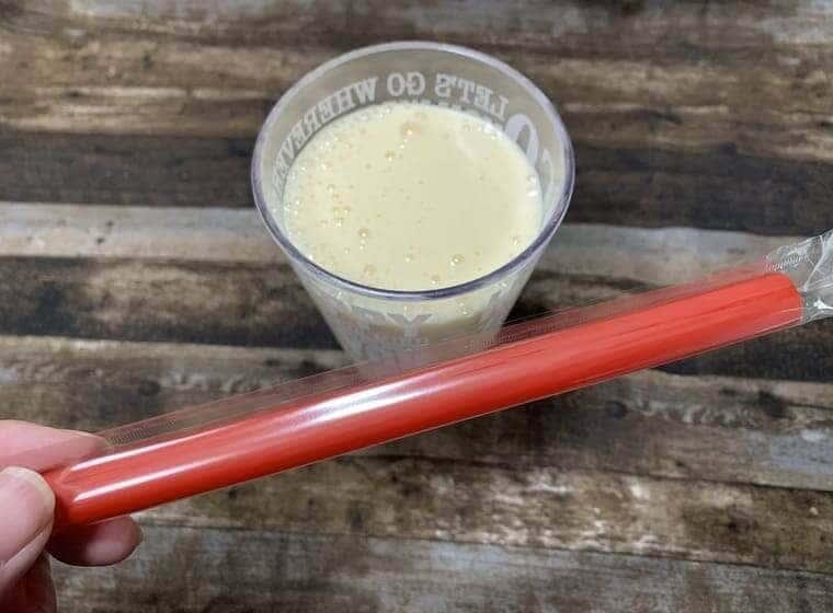 業務スーパーの冷凍パイナップルで作ったミックスジュース