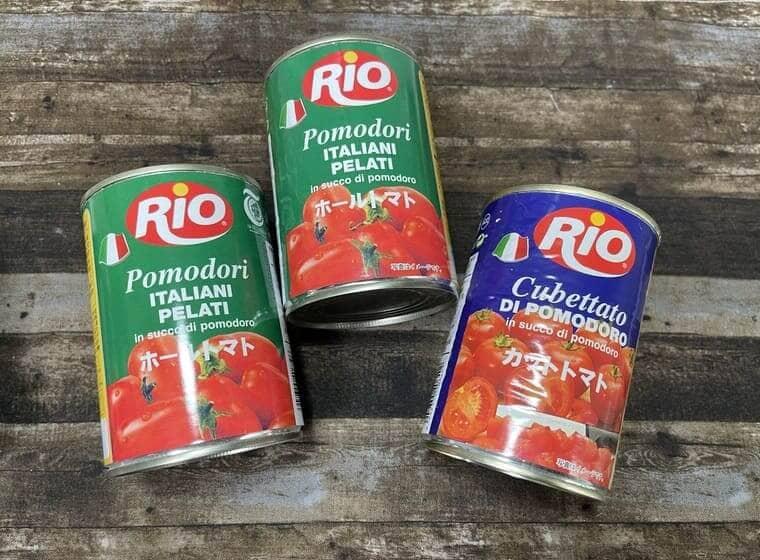 業務スーパーのRIOのカットトマト缶は