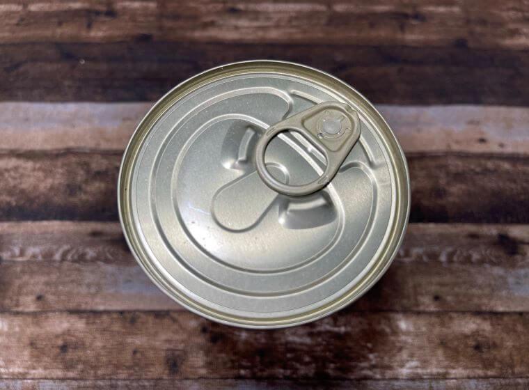 業務スーパーのトマト缶のプルトップ